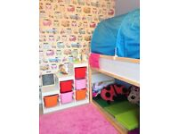 Ikea reversible kids bed