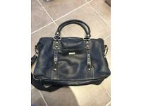 Storksak Elizabeth Leather Changing bag