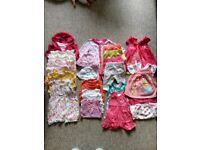 Newborn baby girl summer bundle
