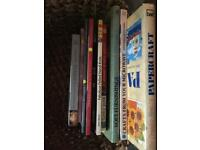 Various Fiction, Craft and Well being books