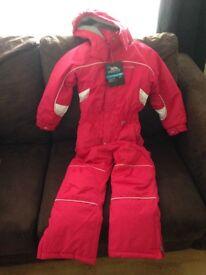 Trespass girls ski suit BNWT size 5/6