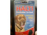 halti headcollar size 4 with clicker brand new