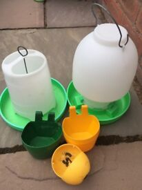 Poultry Feeders and Drinker
