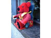 Ferrari teddy bear