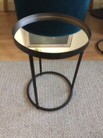 Liang & Eimil Song Side Table Mirror Antique Bronze New.