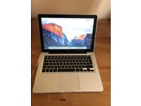 Macbook 13 inch Aluminum Unibody laptop 128gb SSD 4gb or 8gb pro ram memory with backlit keyboard