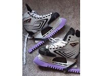 Size 40 hockey boots