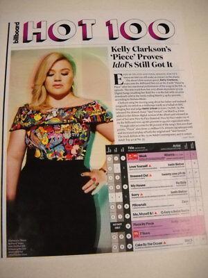 KELLY CLARKSON ...Proves Idol's Still Got It 2016 PROMO DISPLAY PAGE