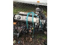 Ford escort turbo Diesel engine and gearbox comes with Ecu, key and spares