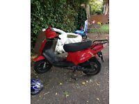 2 mopeds red 1 250ono black 1 300 ono
