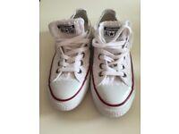 Converse white stylish shoes