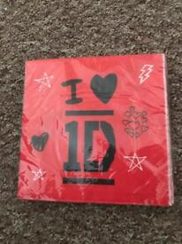 16 one direction napkins