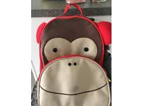 Child's monkey bag/case