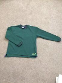 Boys Cubs Tipped Sweatshirt