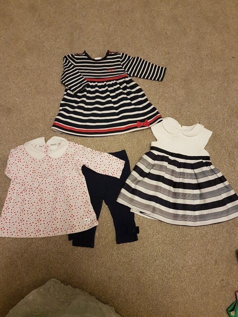 49304faa Huge Baby girls designer dresses / clothes bundle all 3-6 months   in ...