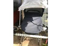 Silver cross vintage pushchair