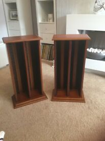 Solid Wood CD Storage Units