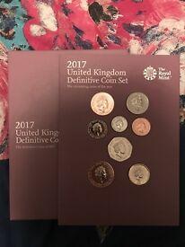 The 2017 United Kingdom Definitive Coin Set