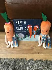 Kevin And Katie Carrot With Book . Brand new 2017 Edition