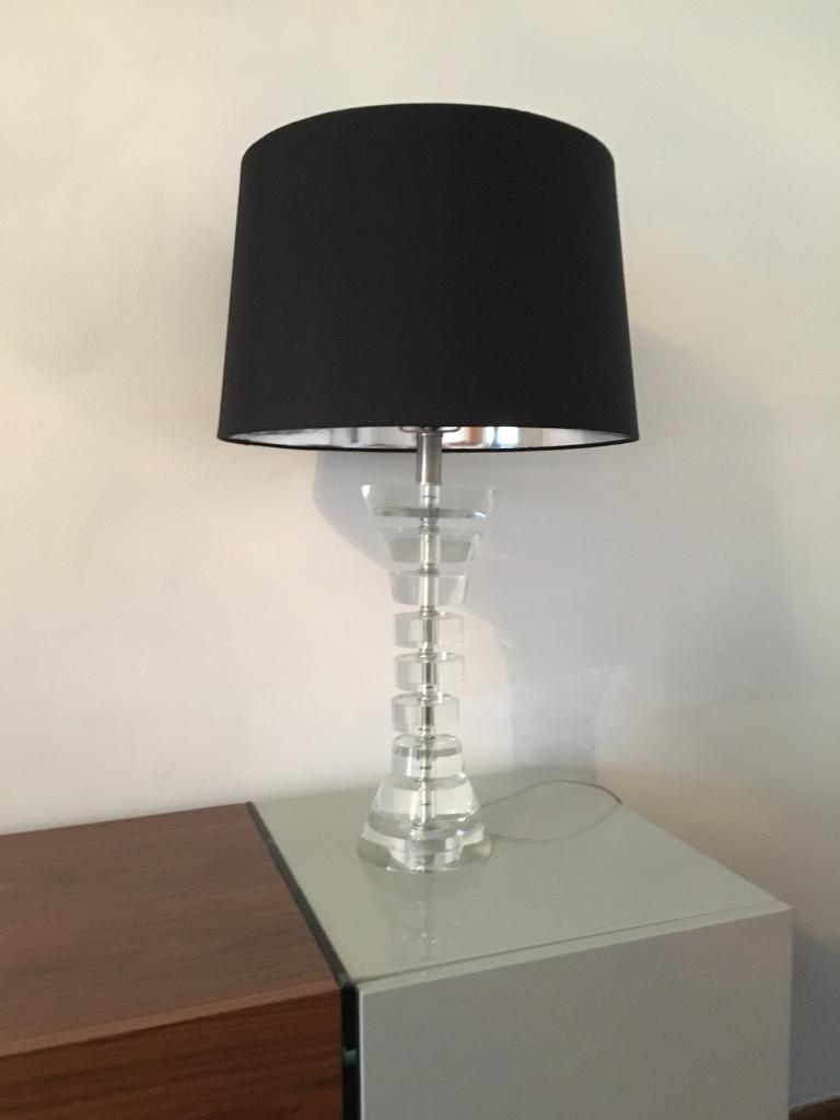 Lamp & 2 Shades From John Lewis Excellent Condition