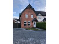 Secluded plot, 4 bed town house.