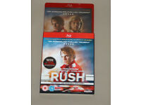 DVD FILM MOVIE BLURAY RUSH BLU-RAY SPECIAL FEATURES 2014.TWO RIVALS ONE TRUE *⭐️