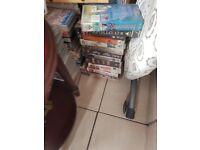 vhs cassettes various films