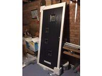 Brand new Dark Grey Hallmark composite front door