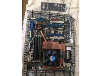 Intel Core2 quad Q8200 + ASUS RAMPAGE FORMULA Intel X48 + 8GB DDR2-800