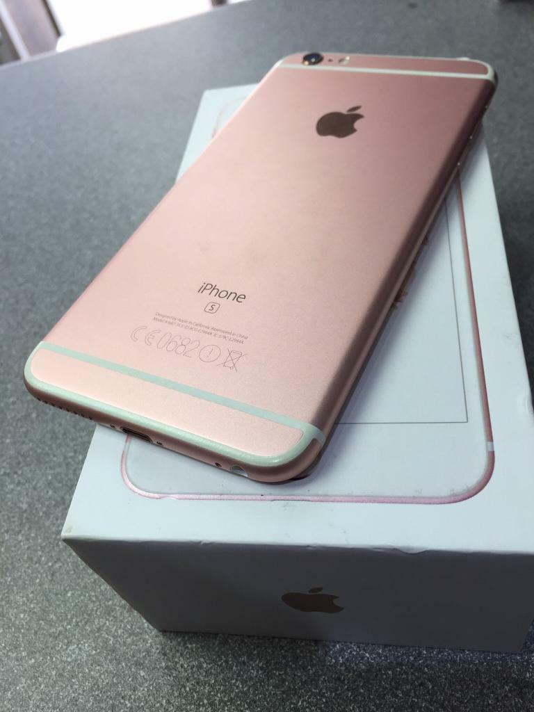 iPhone 6s Plus 64gb unlockin Leicester, LeicestershireGumtree - iPhone 6s Plus 64gb Open to all network In immaculate condition Rose gold colorComplete with original box charger Selling from shop07877481434