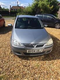 Vauxhall corsa 2004 active TWINPORT 1.0 £775 make an offer need gone