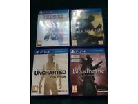 PS4 games bundle bloodborne dark souls 3 uncharted collection final fantasy 12
