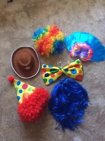 Photobooth Props (Hats & Wigs)