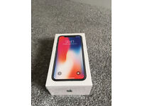 brand new iPhone X 64GB space grey unopened sealed box