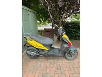 Kymco Agility rs 50 2012 4 stroke petrol scooter