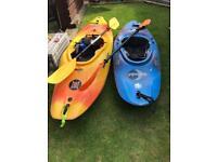 2 x Kayaks