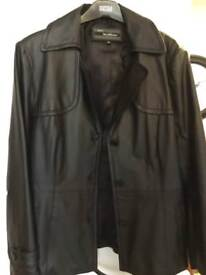 Ladies leather jacket size 18