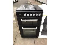 New World NWETC50B 50cm Black Electric Twin Cavity Cooker