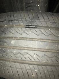 "Set Of 4 15"" Alloys with good tyres ford fit"