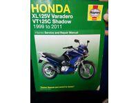 Honda xl 125v varadero