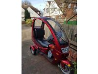 Palmo T150cc Trike-no bike licence needed!! Drive on a car licence