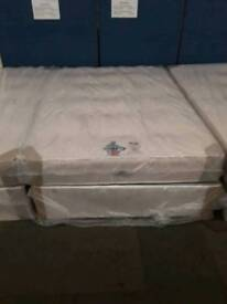 Deluxe Excelsior Orthopaedic Double Mattress and Base