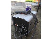 handymate gasless mig welder includes flux wire