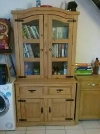 3'buffet Hutch, display cabinet