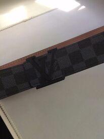 New Louis Vuitton belt