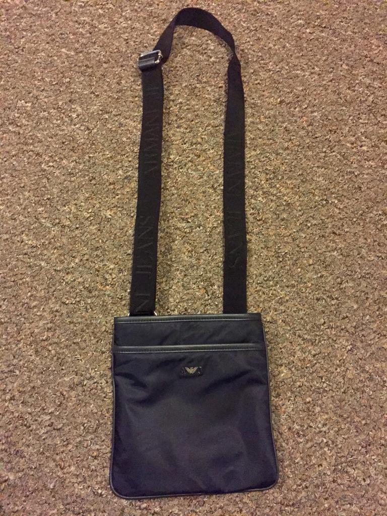 24f60ab8bb Men s Navy Armani Exchange messenger bag (used once) £50ono ...