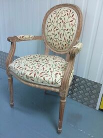 French Style Beaumont Chairs | Set Of 4 | Flower Detail
