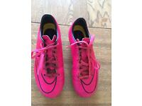 Nike football boots 3 x pairs