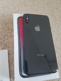 iPhone X 256 gb UNLOCKED gray