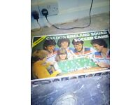 Old board games , football records and burger king toys